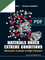 VincenzoSchettino_Materials Under Extreme Conditions2013