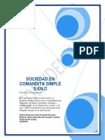 Sociedad en Comandita Simple 130523143307 Phpapp01