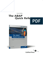 Sap Press Quick Reference