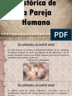 Evolución Histórica de La Pareja Humana