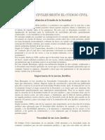 SOCIEDADES CIVILES SEGÚN EL CÓDIGO CIVIL.docx