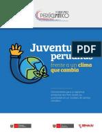 Juventudes-peruanas Frente a Un Clima de Cambio