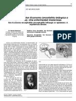 Encefalitis Letargica o de Von Economo