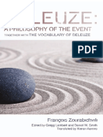 (Plateaus - New Directions in Deleuze Studies) Aarons, Kieran_ Deleuze, Gilles_ Smith, Daniel Warren_ Zourabichvili, François_ Lambert, Gregg-Deleuze, a philosophy of the event _ together with the voc.pdf
