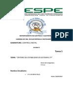 Criterio de Estabilidad Sistemas Lti Mayorga Oscar