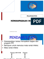 KEWASPADAAN   ISOLASI   IPCN.ppt