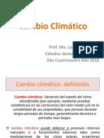 Cambio Climático PPT 1er Cuatrim 2017 (1)