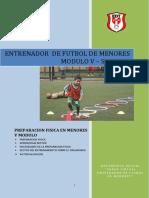 Entrenador de Futbol de Menores Modulo 5 Semana 1 Ok