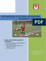 Entrenador de Futbol de Menores Modulo 5 Semana 2 Ok