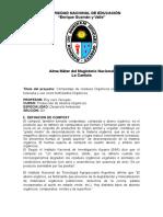 Proyecto de Compost en La Iee. Alfonso Ugarte