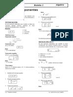 Clase de Exponentes