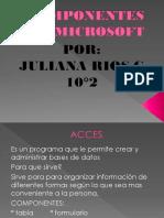 Componentes de Microsoft