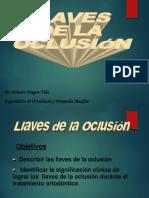 Llaves de La Oclusion[1]