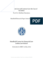 Between Property Law and Contract Law the Case of Securities.pdf