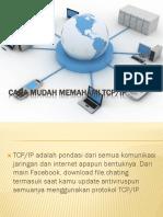 Cara Mudah Memahami TCP