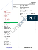 Nota de Aula - Equações Logarítmicas