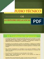 Catedra de Formulación Estudio Tecnico