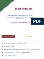 Consideraciones a Tener en Cuenta en La Elaboración de Los Registros Electrónicos. 05.09.16