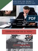 La Corrupcion en Peru y Peritaje Contable Judicial