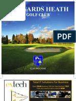 17.06.10 - PRINT READY High - Res - Haywards Heath Golf Brochure 2010