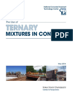 The Use of Ternary Mixtures in Concrete