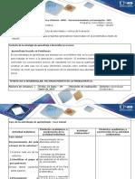 Guía de Actividades y Rúbrica de Evaluación – Paso 1 – Planeación
