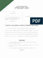 Plaintiffs First Request to Produce to Joshua Alemond 10-L-75