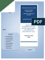 NIIF Para PYMES Aspectos Importantes. Grupo 5