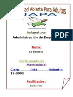 Tarea III Administracion I