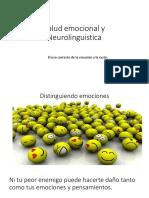 Salud Emocional y Neurolinguistica