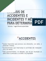Análisis de Accidentes e Incidentes y Métodos Para
