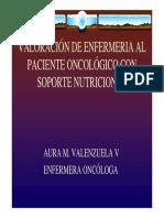 Valoracion Nutricional en Oncología
