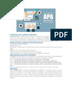 resumen APA 6TA EDICIÓN