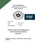 Reformasi administrasi