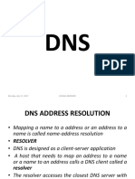 DNS Address Resolution