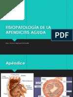 Clse de Fisiopato de La Apendicitis Aguda