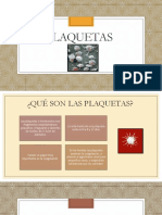 PLAQUETAS - DIAPOS