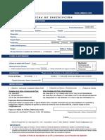 Ficha de Inscripción Digital - CADPERU