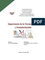 Trabajo de Normalización Reimara León