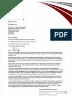 Philip Hammond letter