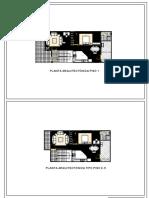 Conjunto de Planos Proyecto Arquitectonico