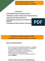 SEMINARIO INFORMES TÉCNICOS