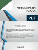 La Administración Pública Mexicana..