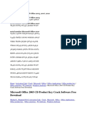 microsoft office 2000 free download full version with product key