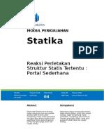 Portal Statis Tertentu