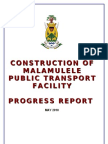 Malamulele Progress Report.rev1.18052010