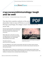 Psychoneuroimmunology_ Laugh and Be Well - Medical News Today