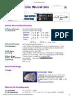 Akrochordite Mineral Data1