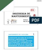 Clase6_Mnto Preventivo MP_Ing. Mnto
