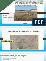 CONSTRUCCIÓN DEL SERVICIO DE  AGUA POTABLE Y.pptx